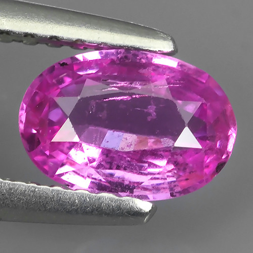 1.00 CTS AWESOME CEYLON PINK SAPPHIRE FACETED GENUINE OVAL
