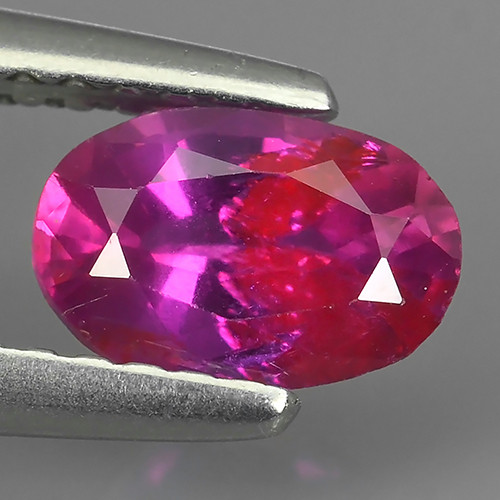 0.80 CTS AWESOME CEYLON PINK SAPPHIRE FACETED GENUINE OVAL