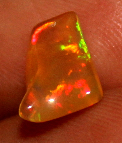1.15 Crt Natural Ethiopian Welo Fire Opal Carvin 117