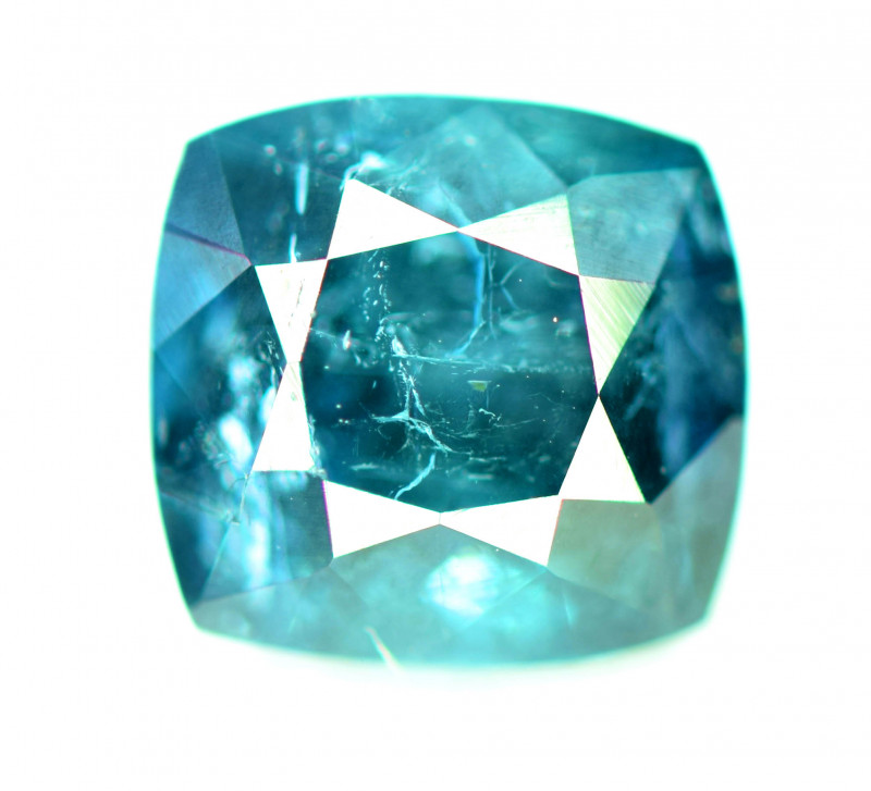 1.70 CT Natural Indicolite Tourmaline Gemstone