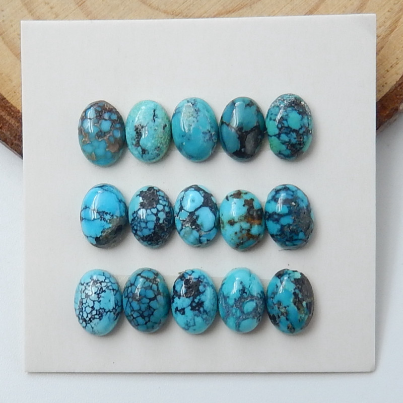 Lucky Turquoise ,Handmade Gemstone ,Turquoise Cabochons ,Lucky Stone D97