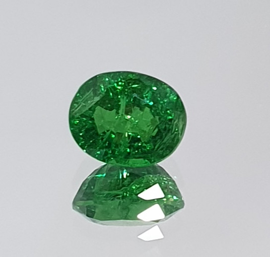 0.6 ct Tsavorite Garnet   From Tanzania  (SKU 97)