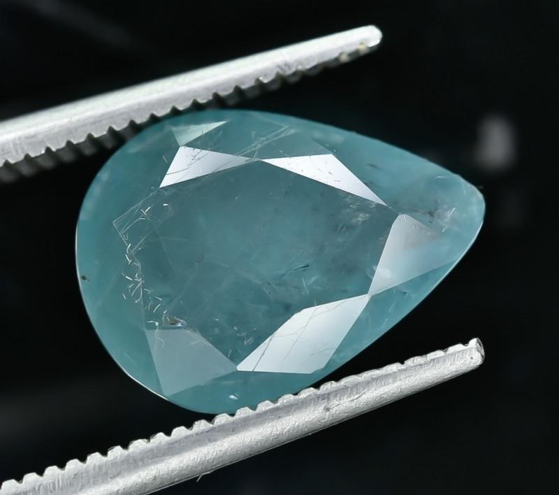 3.41 Crt Natural Rare Grandidierite Faceted Gemstone.( AG 63)