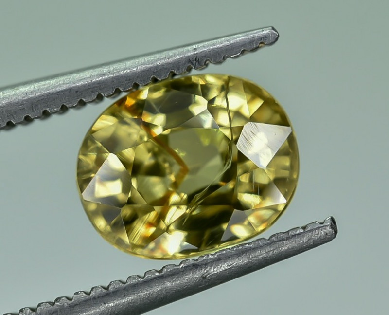 2.21 Crt Natural Zircon Faceted Gemstone.( AG 63)