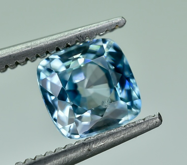 1.37 Crt Natural Zircon Faceted Gemstone.( AG 63)