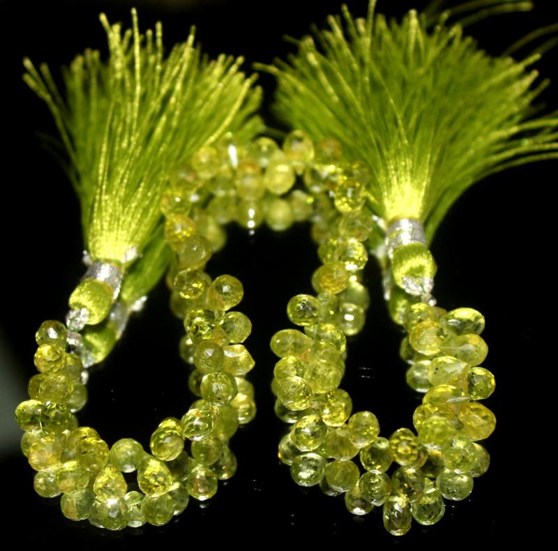 79 Crt Natural Peridot Drops 3
