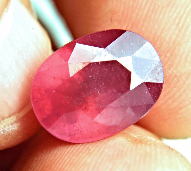 CERTIFIED - 10.56 Carat Fiery Ruby - Gorgeous