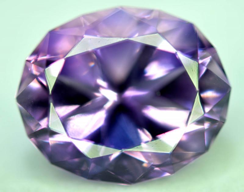20.65 Carats Natural Top Color Fancy Cut Amethyst Gemstone