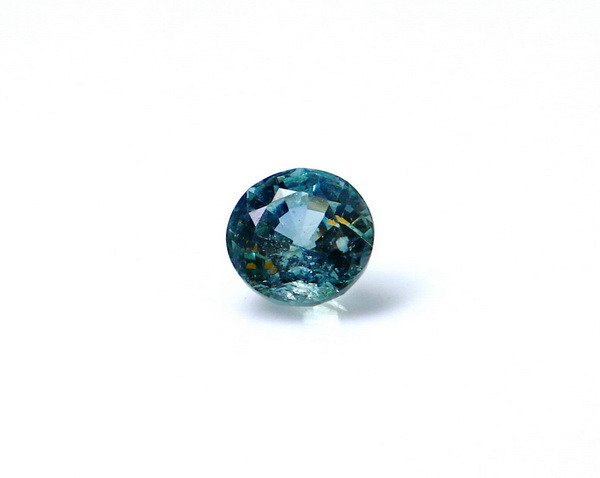 0.95 CT Certified GGTI~ Blue Sapphire Gemstone