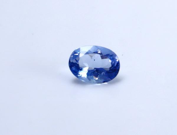 0.70 CT Certified GGTI~ Blue Sapphire Gemstone