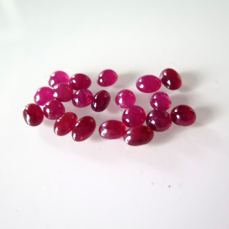 VERY NICE RUBY PARCEL FROM MOZAMBIQUE 29.31cts