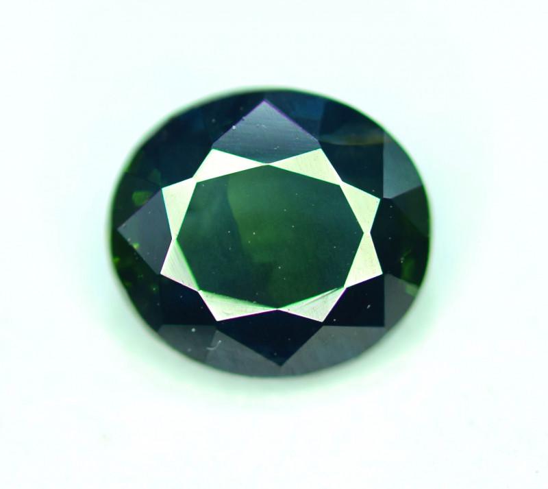 1.20 CT prefect Round Cut Parti Sapphire Gemstone