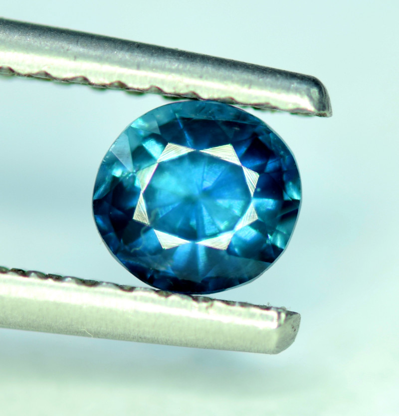 0.8 CT Top Quality Natural Indicolite Blue Tourmaline Gemstone