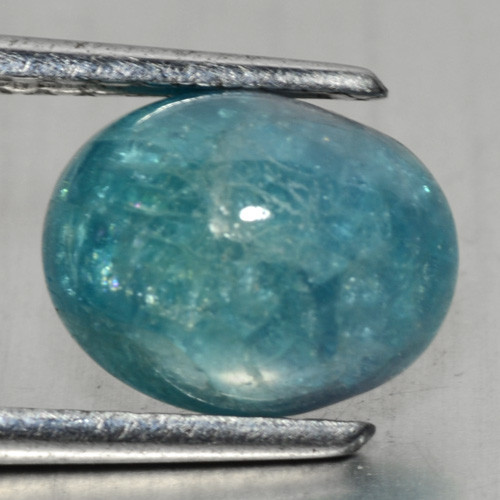 3.14 Cts GIT Certified Blue Green Natural
