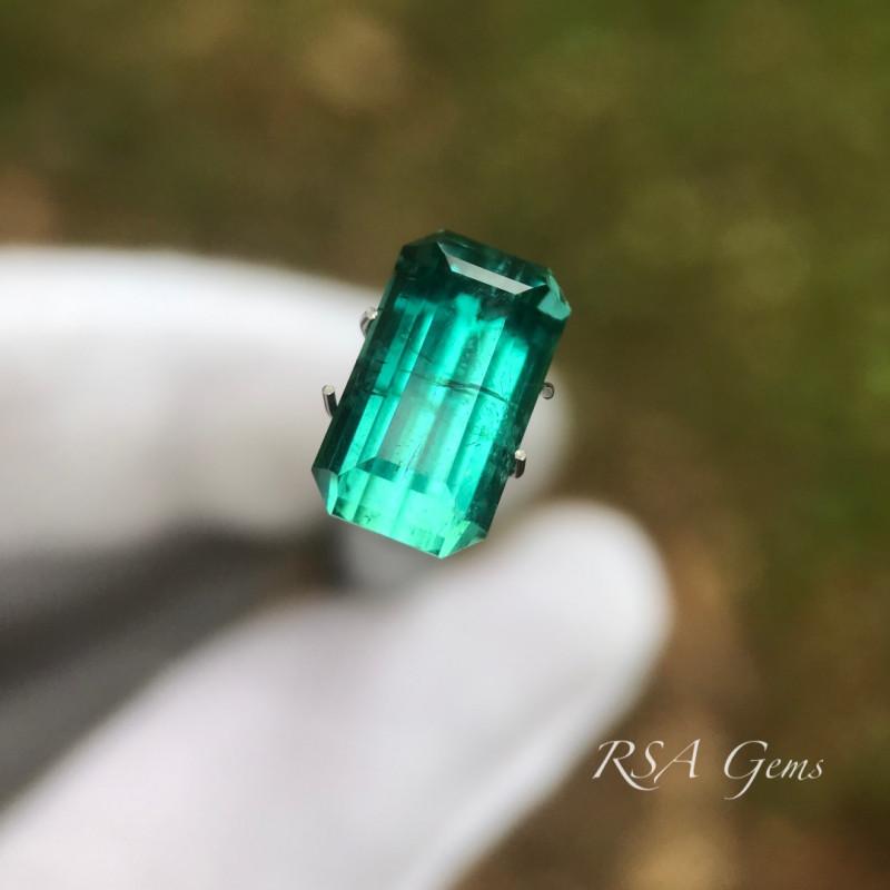 Bluegreen Tourmaline - 4.18 carats