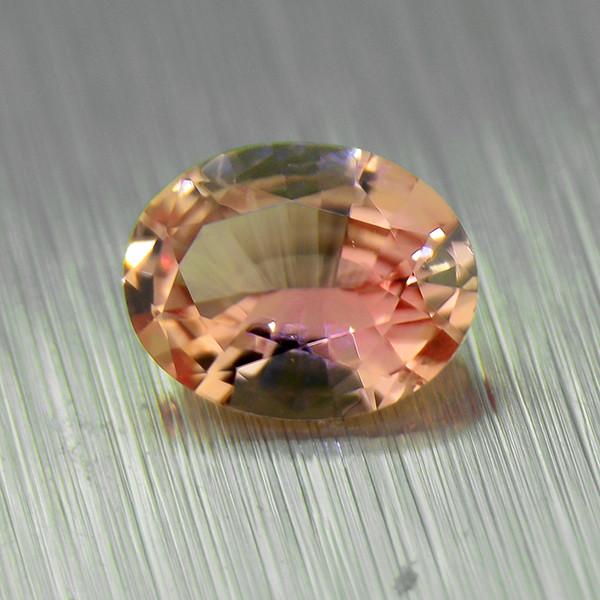 UNHEATED Padparadscha Sapphire .33ct good brilliance (01564)