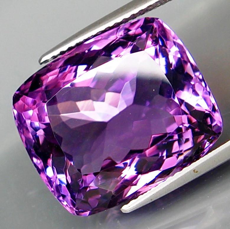 20.49 ct. 100% Natural Top Nice Purple Amethyst Unheated Brazil