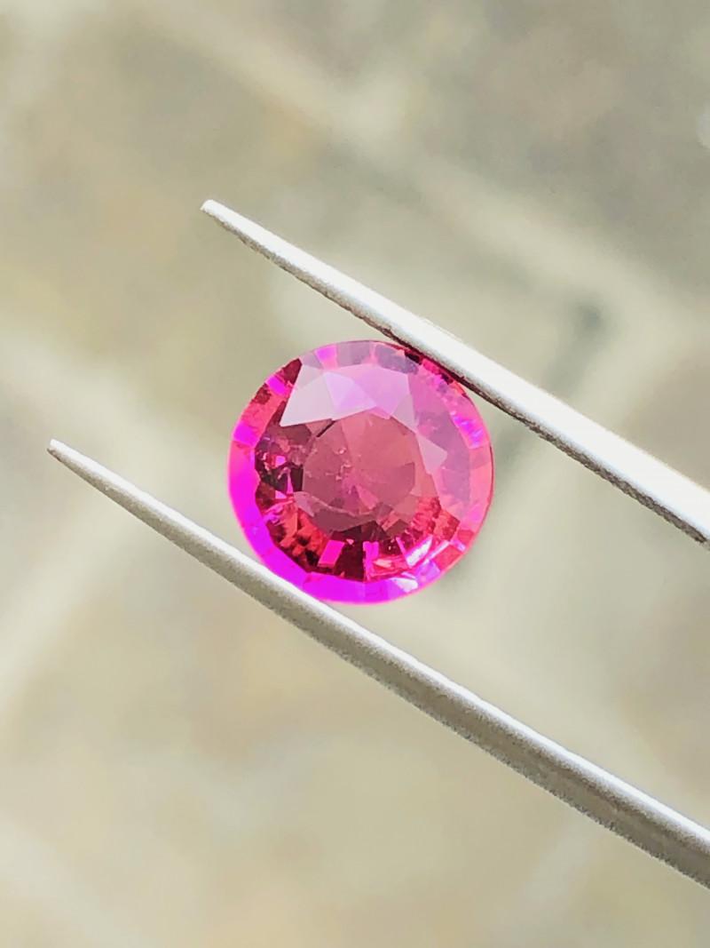 2.05 Ct Natural Pinkish Transparent Tourmaline Gemstone