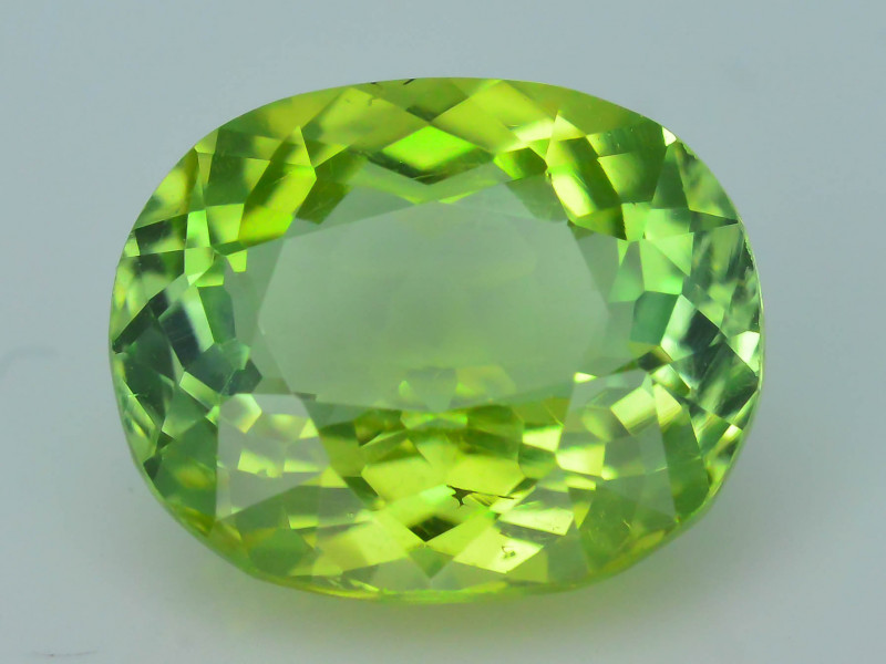 AAA Grade 3.19 ct Afghan Lime Green Tourmaline Sku-33
