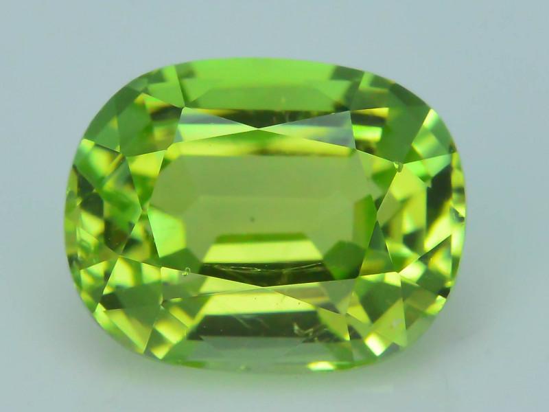 AAA Grade 1.92 ct Afghan Lime Green Tourmaline Sku-33