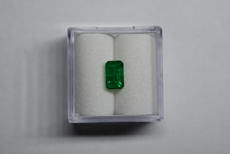 0.95 Carats Vivid Green AFGHAN (Panjshir) Emerald!