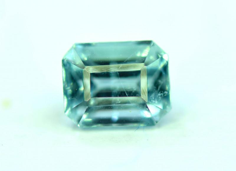 1.20 CT Top Quality Rare Color Indicolite Tourmaline Gemstone