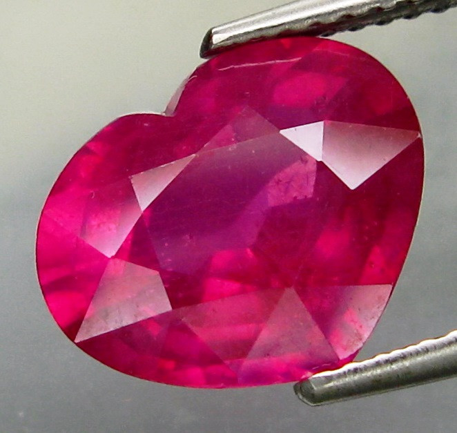 5.28  Cts. Top Quality Blood Red Natural Ruby Madagascar Gem