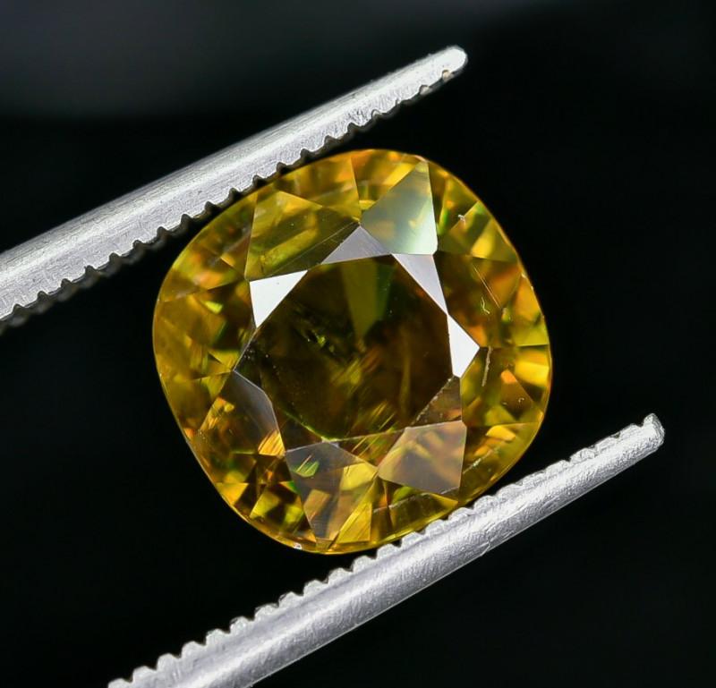 4.27 Crt Natural Sphene Faceted Gemstone AB(23)