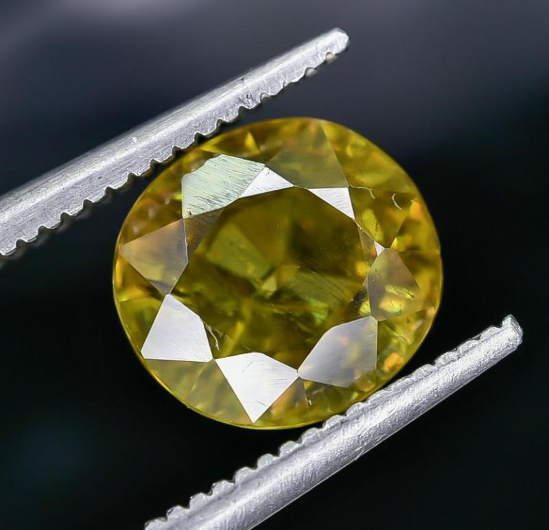 2.49 Crt Natural Sphene Faceted Gemstone AB(23)