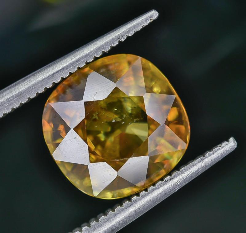 3.92 Crt Natural Sphene Faceted Gemstone AB(23)
