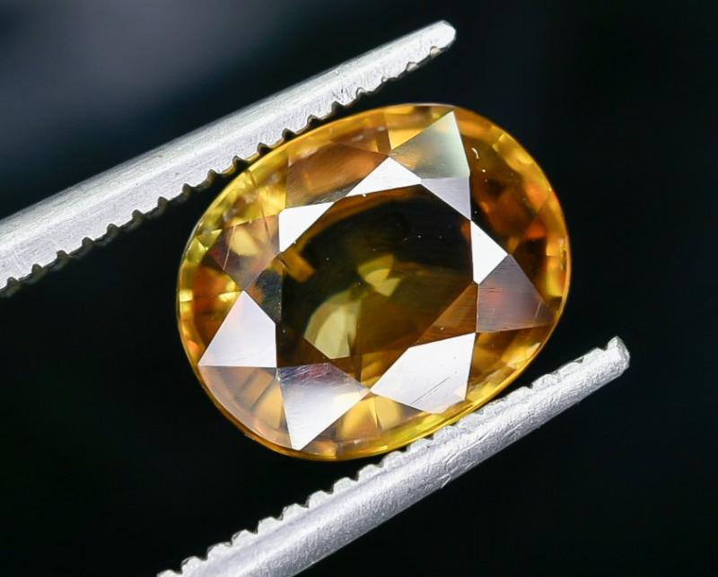 3.60 Crt Natural Sphene Faceted Gemstone AB(23)