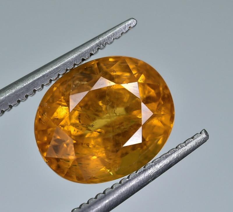 4.38 Crt Natural Spessartite Garnet faceted Gemstone AB(24)