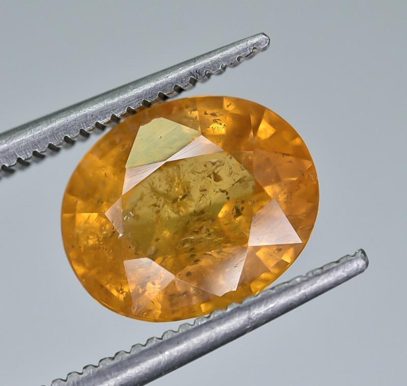3.54 Crt Natural Spessartite Garnet faceted Gemstone AB(24)