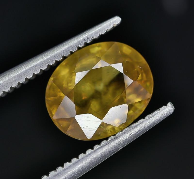 2.23 Crt Natural Sphene Faceted Gemstone AB(23)
