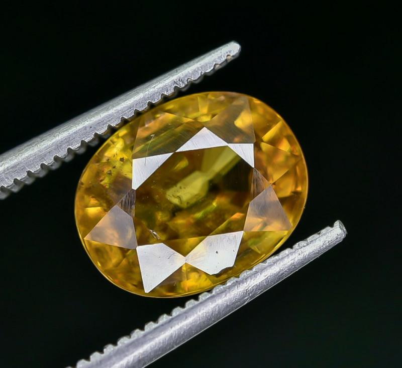 2.33 Crt Natural Sphene Faceted Gemstone AB(23)