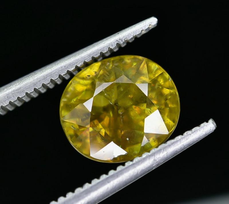 2.55 Crt Natural Sphene Faceted Gemstone AB(23)