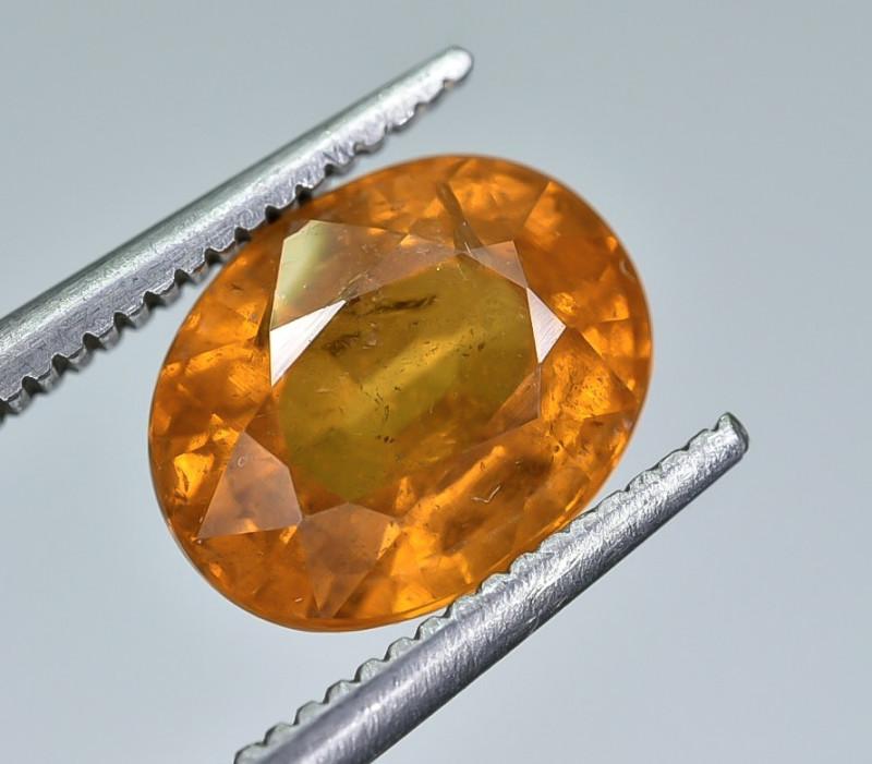 3.31 Crt Natural Spessartite Garnet faceted Gemstone AB(24)
