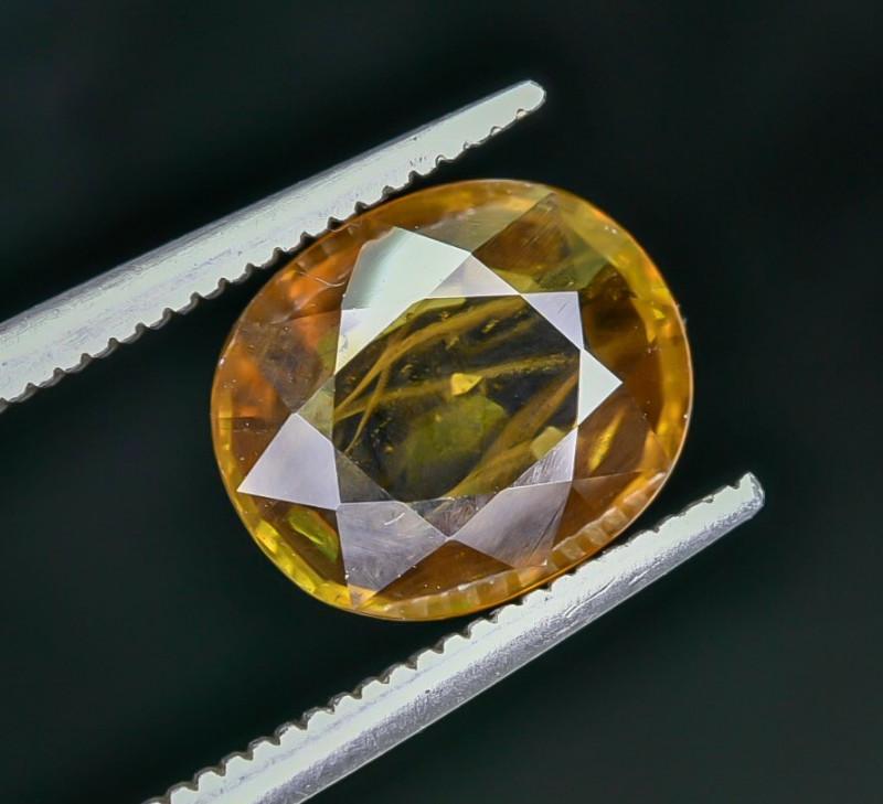3.13 Crt Natural Sphene Faceted Gemstone AB(23)