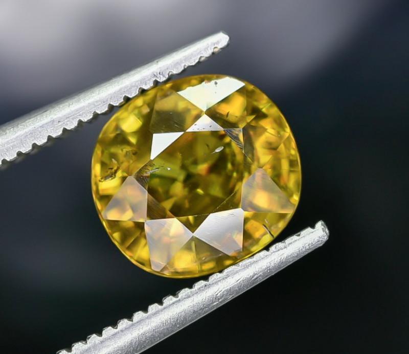 2.29 Crt Natural Sphene Faceted Gemstone AB(23)