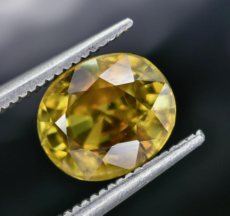 2.53 Crt Natural Sphene Faceted Gemstone AB(23)