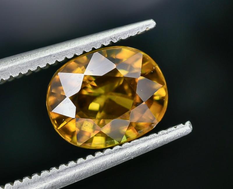 2.22 Crt Natural Sphene Faceted Gemstone AB(23)