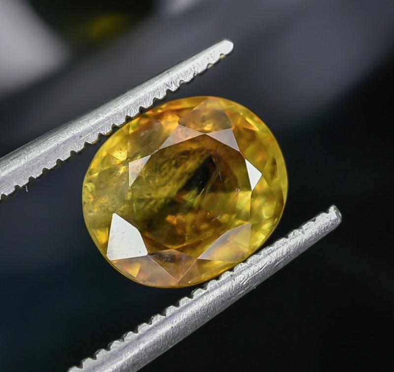 2.11 Crt Natural Sphene Faceted Gemstone AB(23)