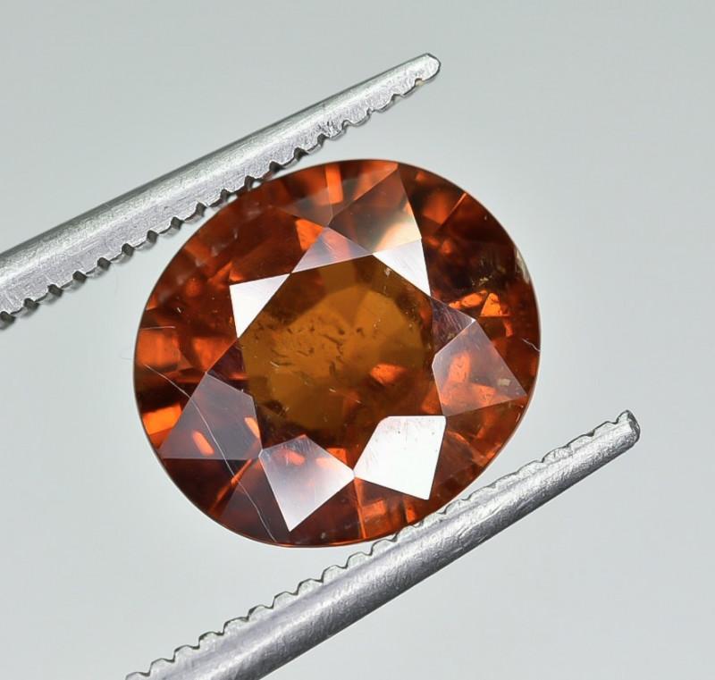 3.42 Crt Natural Spessartite Garnet faceted Gemstone AB(24)