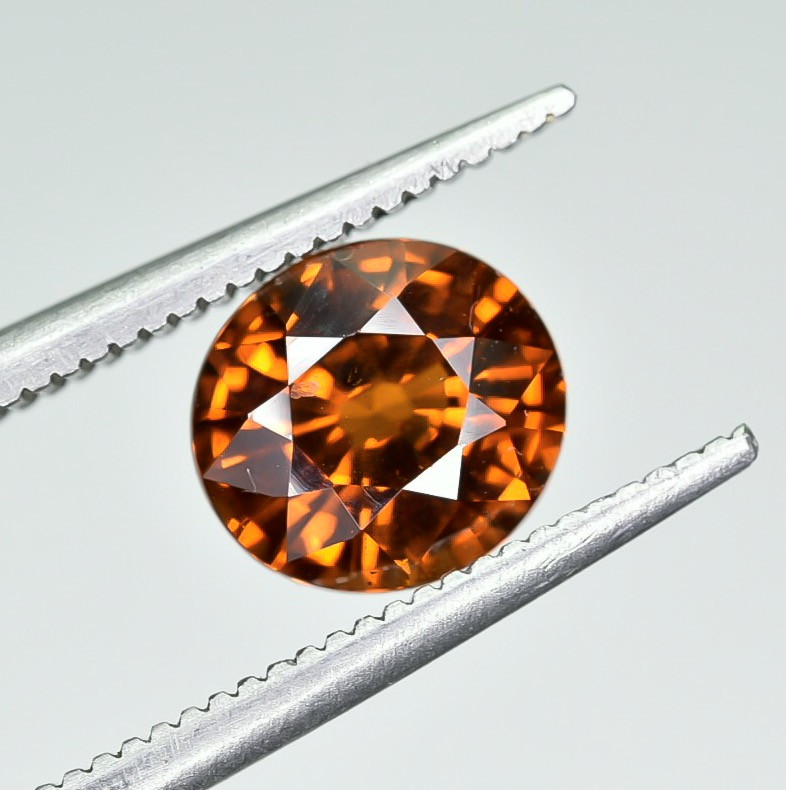 2.12 Crt Natural Spessartite Garnet faceted Gemstone AB(24)