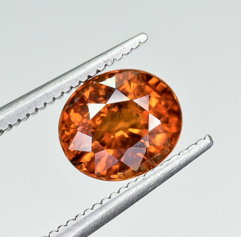 2.26 Crt Natural Spessartite Garnet faceted Gemstone AB(24)