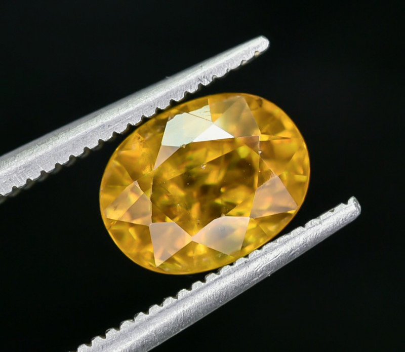 2.34 Crt Natural Sphene Faceted Gemstone AB(23)