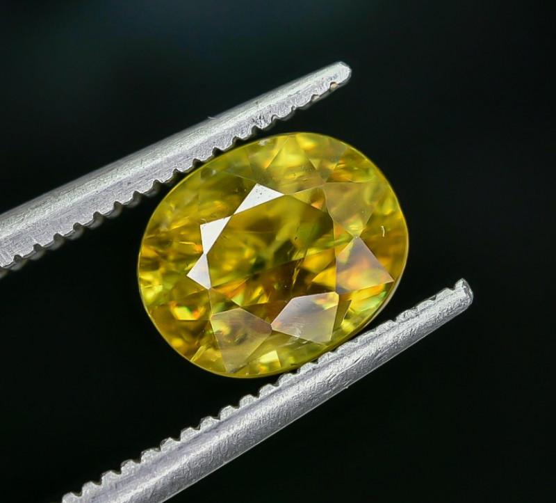 2.39 Crt Natural Sphene Faceted Gemstone AB(23)