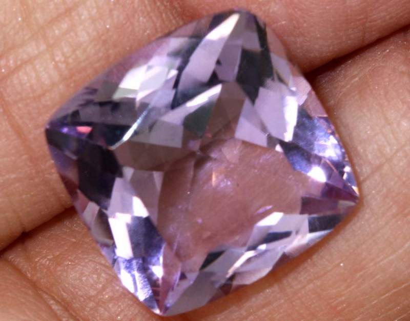 12.90 CTS AMETHYST FACETED GEMSTONE CTS BG-321