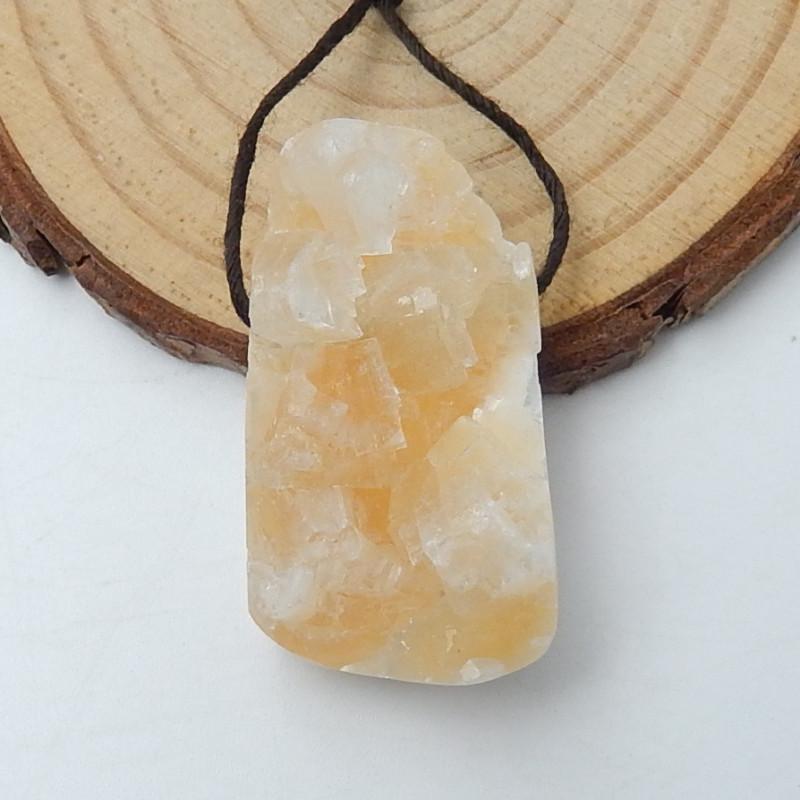 Sale Raw crystal Pendant Bead,hand cut gemstone , raw gemstones D216