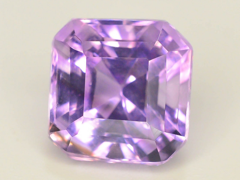 Top Color 5.60 ct AAA Cut Untreated Amethyst